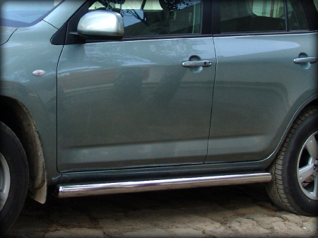 Toyota Rav-4 2010-2012г.в.-Пороги d-76